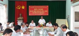Hội nghị sơ kết giữa nhiệm kỳ 2015- 2020 và tổng kết năm 2017