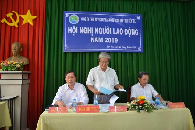 Ông Nguyễn Văn Ngân tiếp thu ý kiến, giải trình và chỉ đạo tại Hội nghị