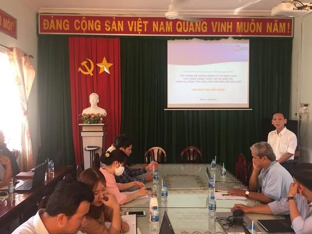 Chủ nhiệm đề tài: TS. Trần Thái Bình giới thiệu về GIS và phần mềm mã hóa nguồn mở GIS