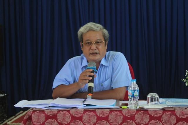 Ông Nguyễn Văn Ngân - Giám đốc Công ty gợi ý thảo luận