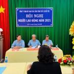Chủ trì Hội nghị: ông Hồ Ngọc Hậu – ông Nguyễn Văn Ngân – ông Châu Thanh Xuân